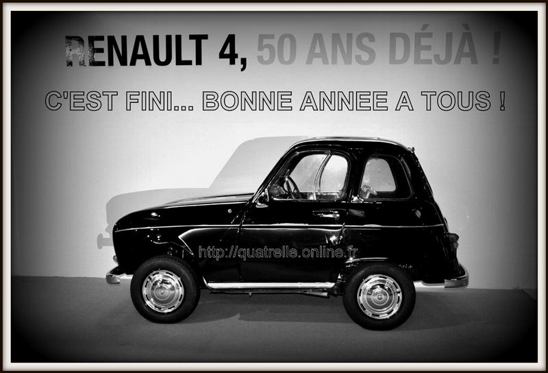 4L Bertin raccourcie - Voeux 2012 du site Quatrelle.
