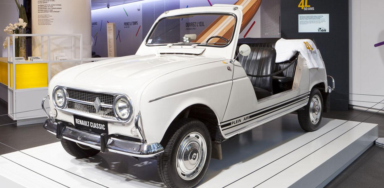 Renault 4 Plein Air à l'Atelier Renault