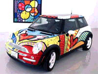 Austin Mini Romero Britto