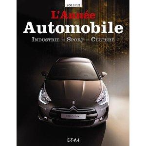 L'année automobile 2011-2012 (Couverture)