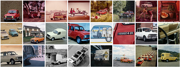 Extrait de l'album renault 4 FlickR Renault officiel